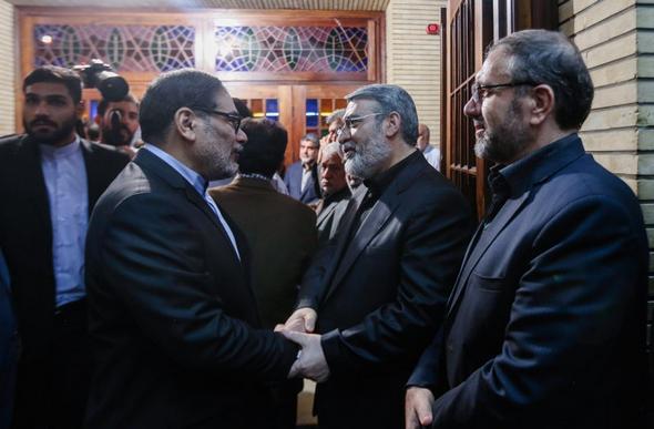 تصاویر : مراسم ختم برادر وزیر کشور