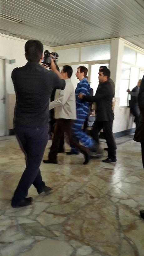 اولین تصویر از بابک زنجانی در دادگاه با لباس زندانی