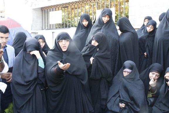 تحصن مخالفان برجام پس از 6 روز پایان یافت/ عکس
