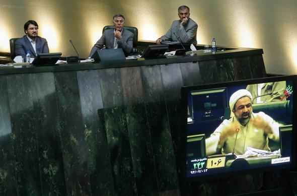تصاویر : تب و تاب برجام در مجلس