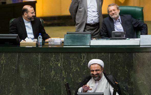 تصاویر : جلسه استیضاح وزیر راه