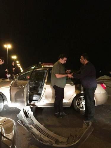 تصادف گروه ناظری در راه بازگشت به تهران