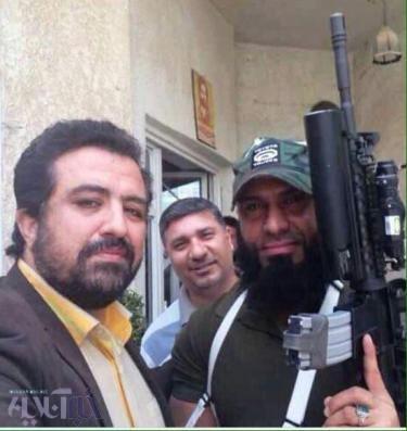 سلفی حسینیبای با ابوعزرائیل داعشیها