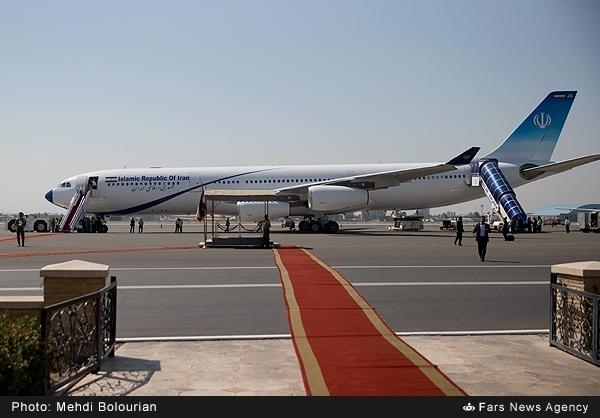 روحانی با کدام هواپیما به نیویورک رفت؟/ عکس