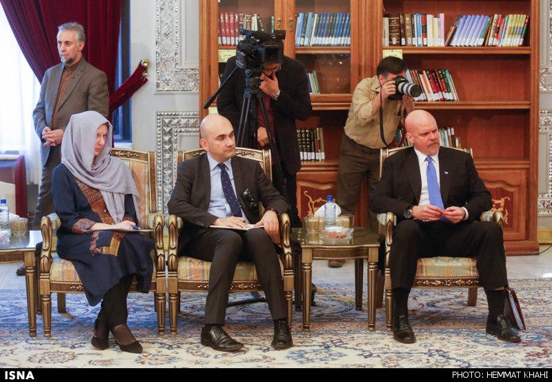 تصاویر: دیدار قائم مقام دبیر کل سازمان ملل با آیت الله هاشمی