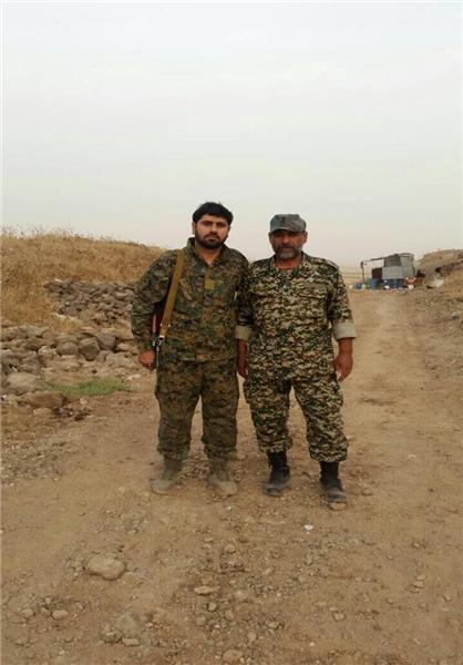 شهادت فرمانده اسبق تیپ «صابرین» در سوریه + عکس