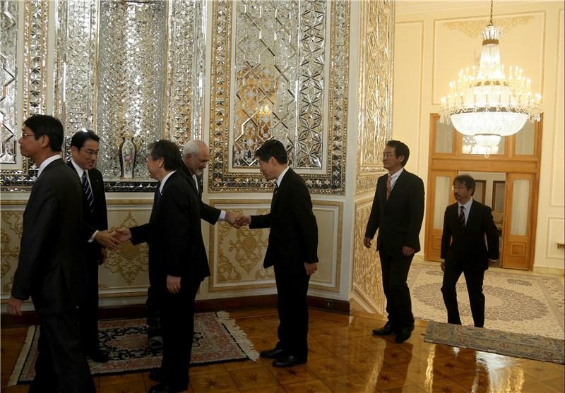 دیدار مدیران ژاپنی با ظریف + تصاویر