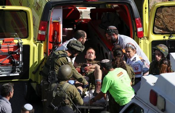 تصاویر : عملیات استشهادی جوان فلسطینی