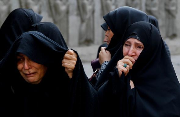 تصاویر : اشکهای ظریف برای جانباخته منا