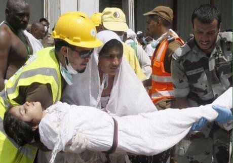 انتشار عکس کوچکترین قربانی فاجعه منا