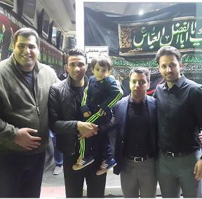 نکونام و پسرش در هیئت امام حسین + عکس