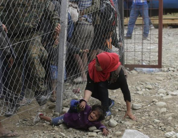تصاویر : مبارزات مادران مهاجر