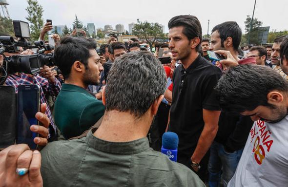 تصاویر : فریاد پرسپولیسیها در فراق کاپیتان