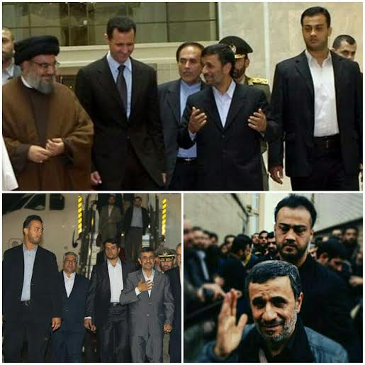 شهادت محافظ احمدی نژاد در سوریه
