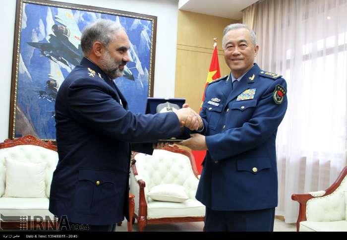 تصویر: دیدار فرمانده نیروی هوایی ایران و چین