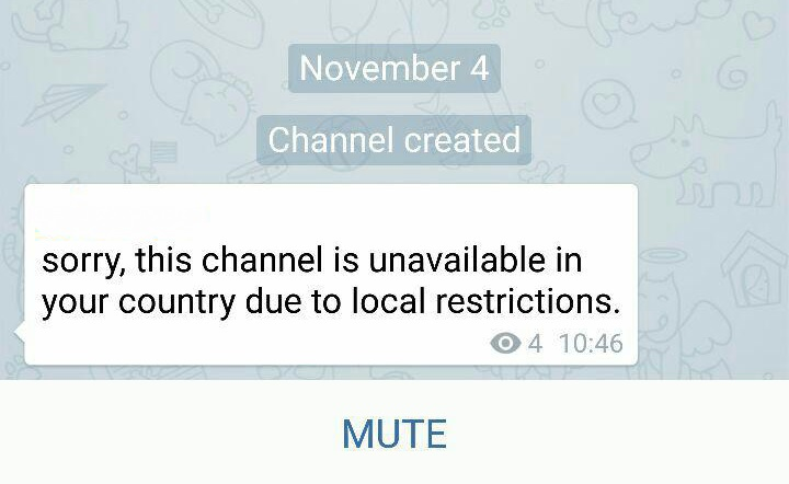 تلگرام کانال های غیر اخلاقی را مسدود کرد / حرف وزارت ارتباطات به کرسی نشست