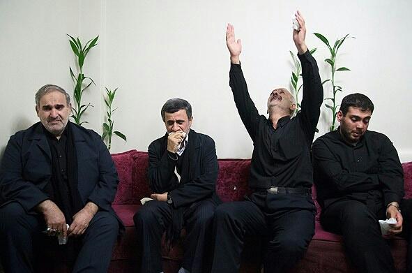 مدافع حرمی که محافظ احمدی نژاد بود چگونه با وی آشنا شد؟