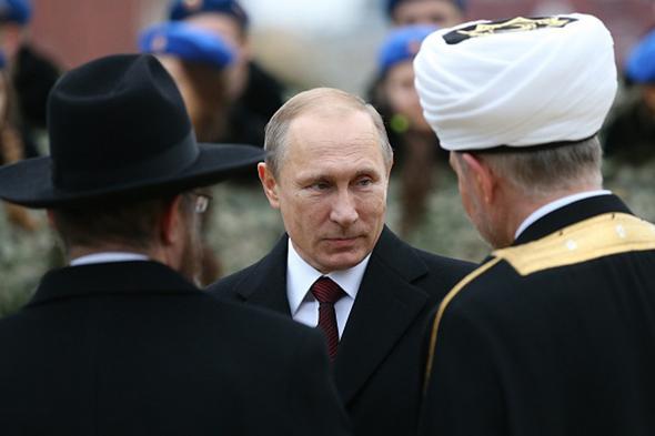 تصاویر : جشن ملی روز وحدت روسیه با حضور پوتین