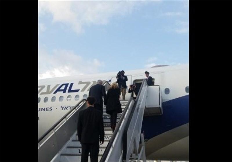 نتانیاهو و همسرش در راه آمریکا + عکس