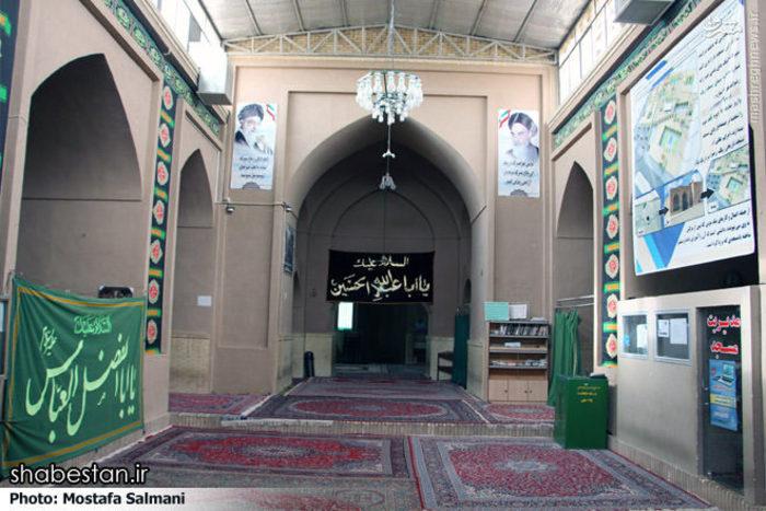 عکس:مسجدی که از زیر خاک بیرون آمد