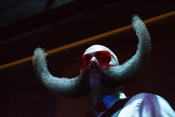 تصاویر : بهترین ریش بروکلین