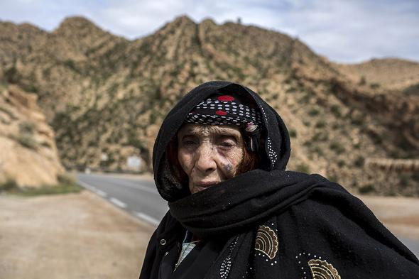تصاویر : چهره عجیب زنان بربر