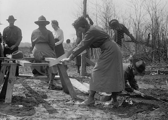 تصاویر : زنان در جنگجهانی اول