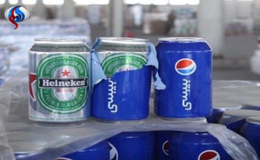 مشروبات الکلی با پوشش نوشابه در عربستان + عکس