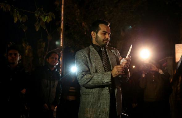 تصاویر : همدردی ایرانیها با مردم فرانسه