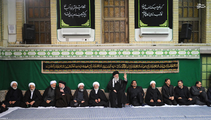 تصاویر: آخرین شب عزاداری ایام محرم در بیت رهبری