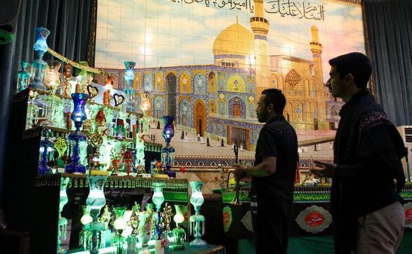 تصاویر : فرهنگ عزاداری عربهای مقیم تهران