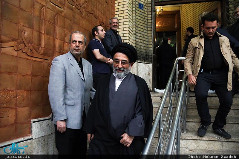 تصاویر: مراسم بزرگداشت پدر شهیدان شاه حسینی