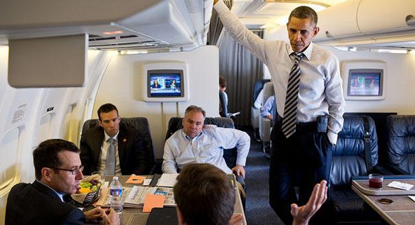 با هواپیمای رییس جمهور آمریکا آشنا شوید+ تصاویر