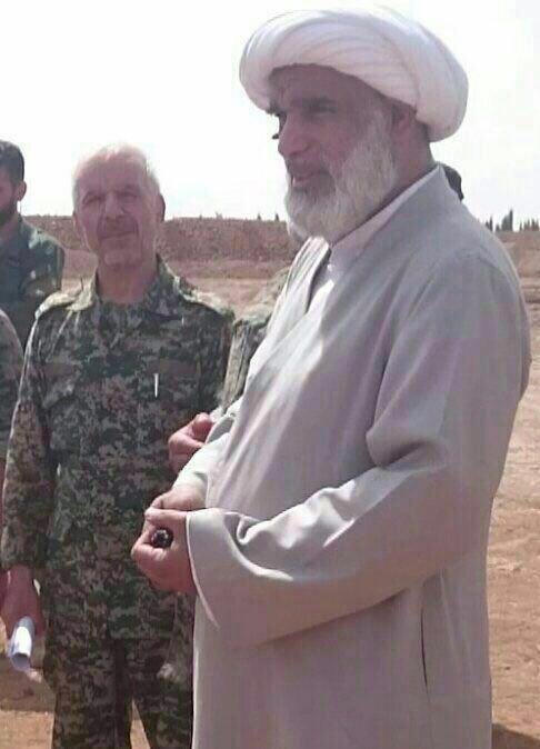 عکس:حضور یک عضو مجلس خبرگان در جبهه مبارزه با داعش