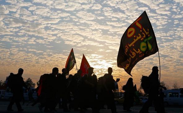تصاویر راهپیمایی عظیم زائران اربعین حسینی