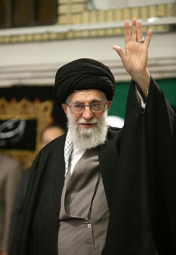 تصاویر عزاداری اربعین حسینی با حضور رهبر معظم انقلاب