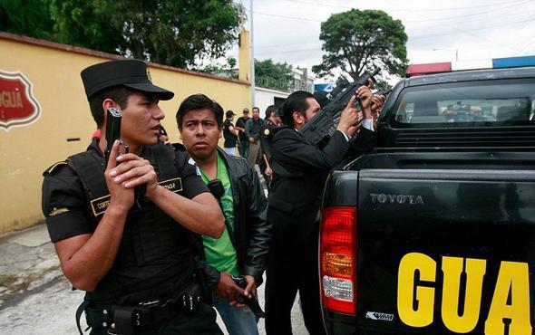 تصاویر : قتل های خیابانی در گواتمالا