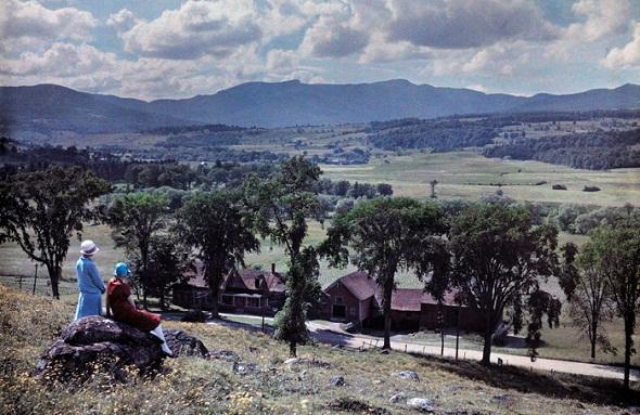 تصاویر : آلبوم رنگی از امریکا صدسال قبل