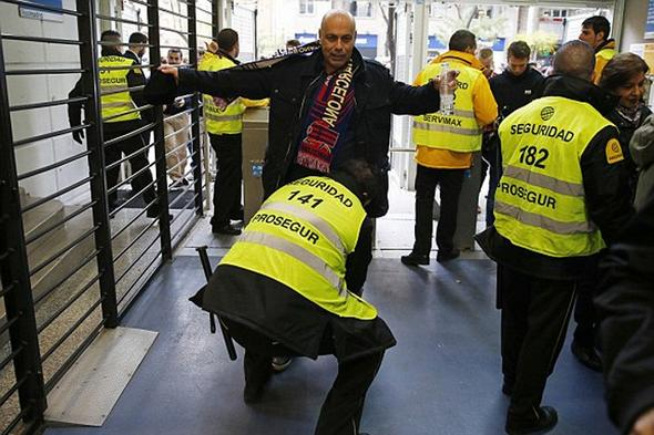 تصاویر : تحقیر رئال تحت تدابیر امنیتی