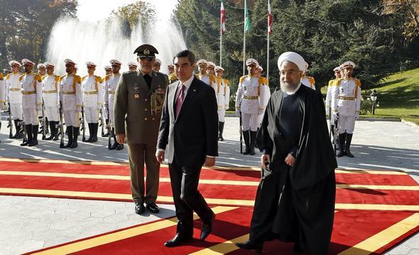 تصاویر : دیدارهای رییس جمهوری ترکمنستان