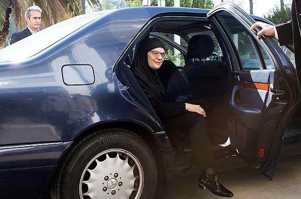 حجاب کامل رئیس پارلمان صربستان در برابر لاریجانی+ تصاویر