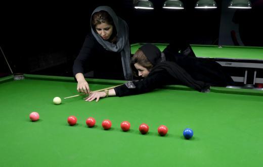 رویترز دختر بیلیاردباز ایرانی را سوژه کرد + تصاویر