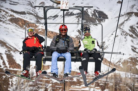 تصاویر : افتتاح پیست اسکی دربندسر تهران