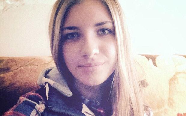 آیا این دختر کسی است که روی بمب منفجر شده در هواپیما روسیه نشسته بود؟!