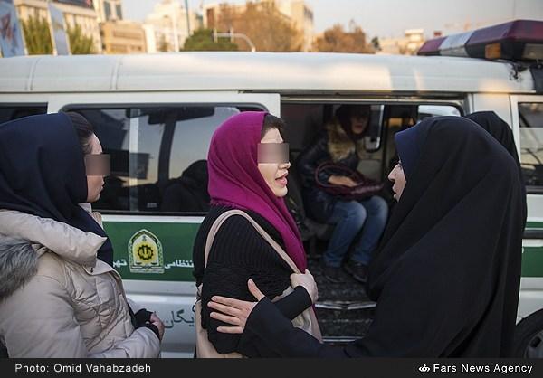 تصاویر: بازگشت گشت ارشاد به خیابان ها