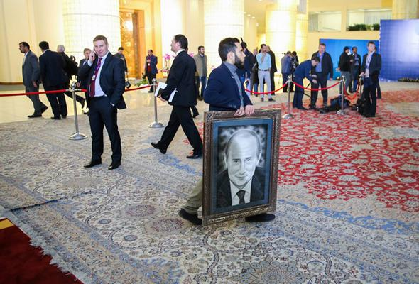تصاویر : نشست مشترک ایران و روسیه