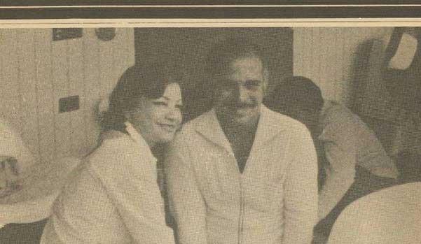 تصویر: اشرف پهلوی و شاه اردن