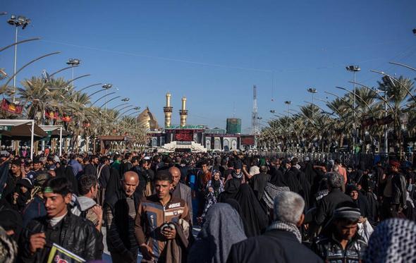 تصاویر : کربلا یک هفته قبل از اربعین