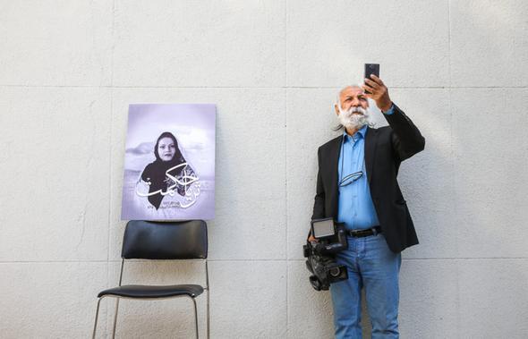 تصاویر : مراسم تشییع ثریا حکمت