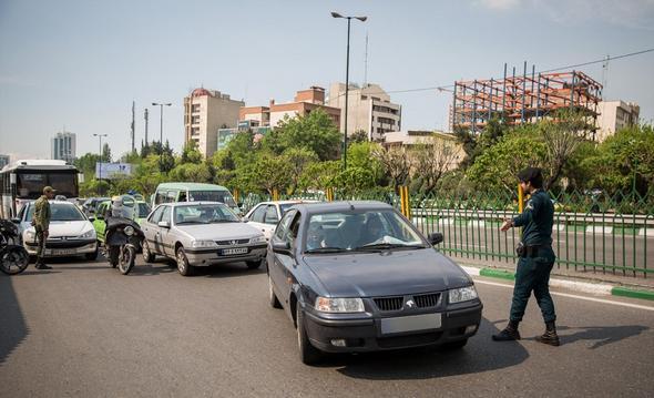 تصاویر :  اجرای طرح امنیت اخلاقی در بزرگراهها
